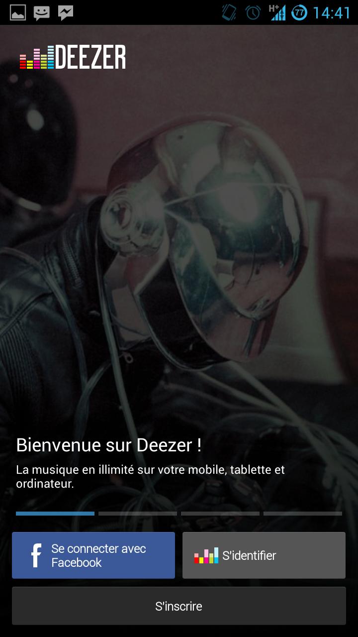 Deezer Beta Android : Nouvelles interface et fonctionnalités