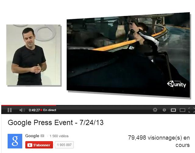 Conférence de presse Google : les annonces !