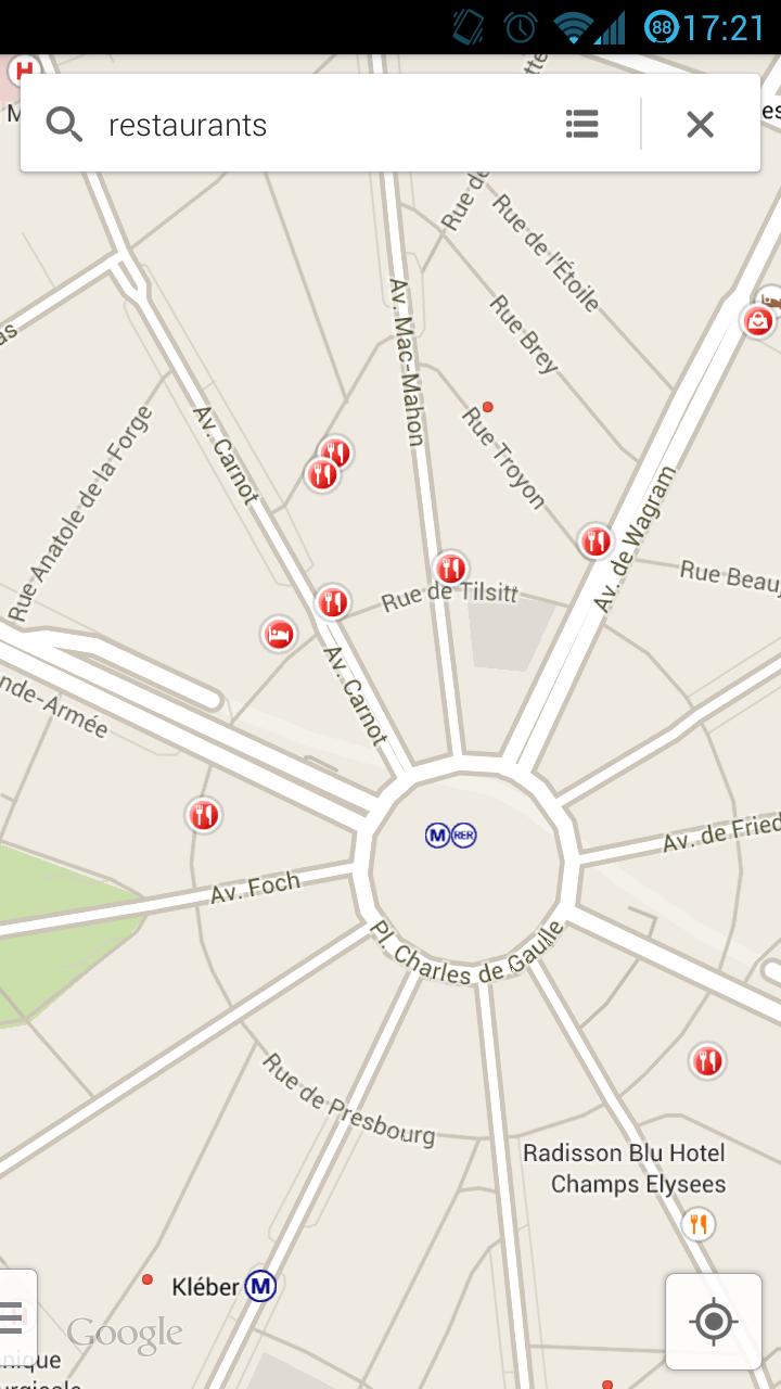 Google Maps 7.0 : Mise à jour sur Samsung Galaxy S3 4.2.2