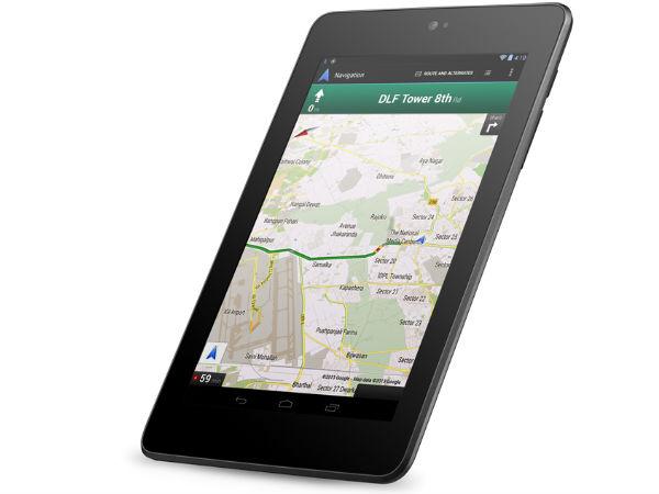 Offre Google : carte cadeau de 25$ sur le Play Store et livraison gratuite pour l'achat d'une Nexus 7