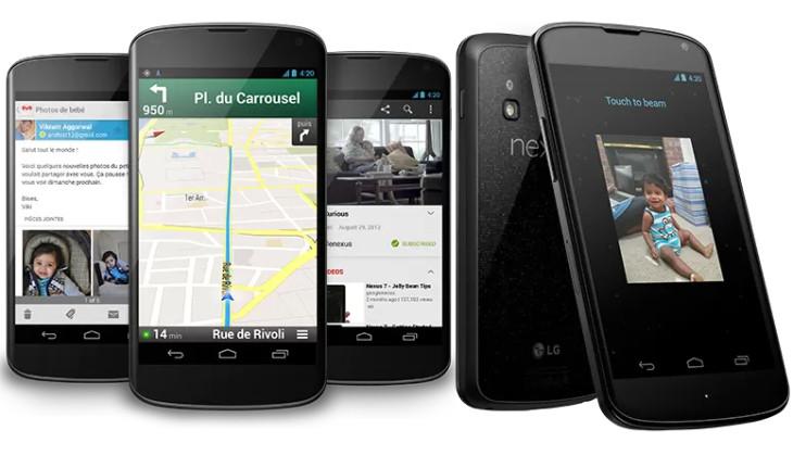 Nexus 4 : maintenant à 199 euros !