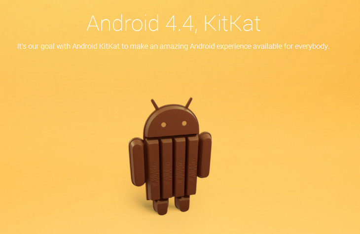 Android 4.4 se nommera .. KitKat !