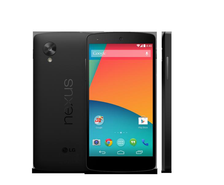 Google Nexus 5 apparu à 349$ sur le Play Store