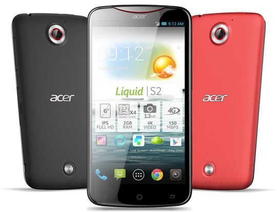 Acer Liquid S2 : vidéo de présentation et sortie imminente