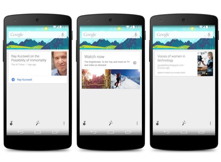 Mise à jour Google Search : les nouveautés Android KitKat disponibles pour Jelly Bean