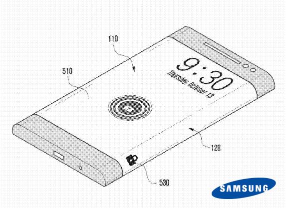 Samsung lancera dès l'an prochain un smartphone avec écran incurvé et étendu sur les tranches