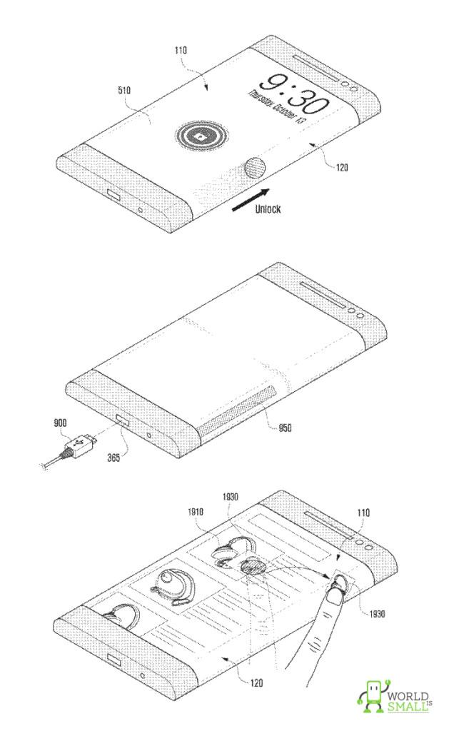 samsung lancera d s l 39 an prochain un smartphone avec cran. Black Bedroom Furniture Sets. Home Design Ideas