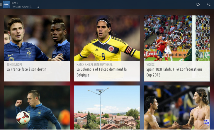 FIFA : l'application officielle maintenant sur Android