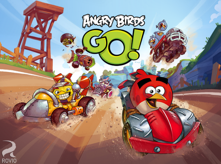 Angry Birds Go disponible sur Google Play !