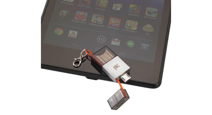 La société PK propose la plus petite clé USB au monde