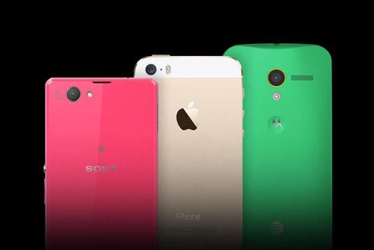 Comparatif Sony Xperia Z1 : que vaut-il face aux Motorola Moto X et iPhone 5S