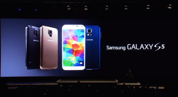 Samsung dévoile le Galaxy S5, nouveau fleuron de la marque