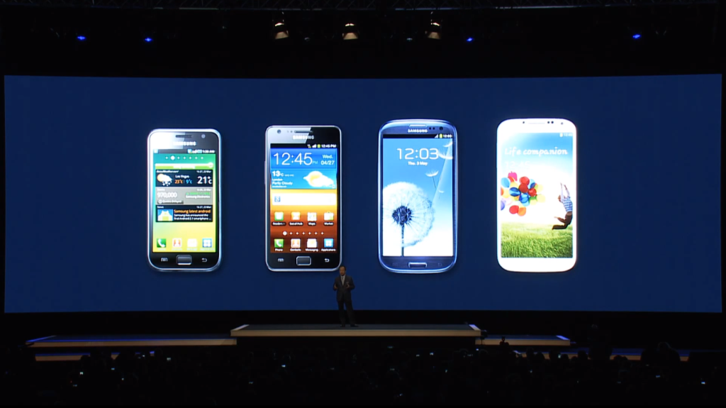 Samsung Galaxy S5 Couleurs
