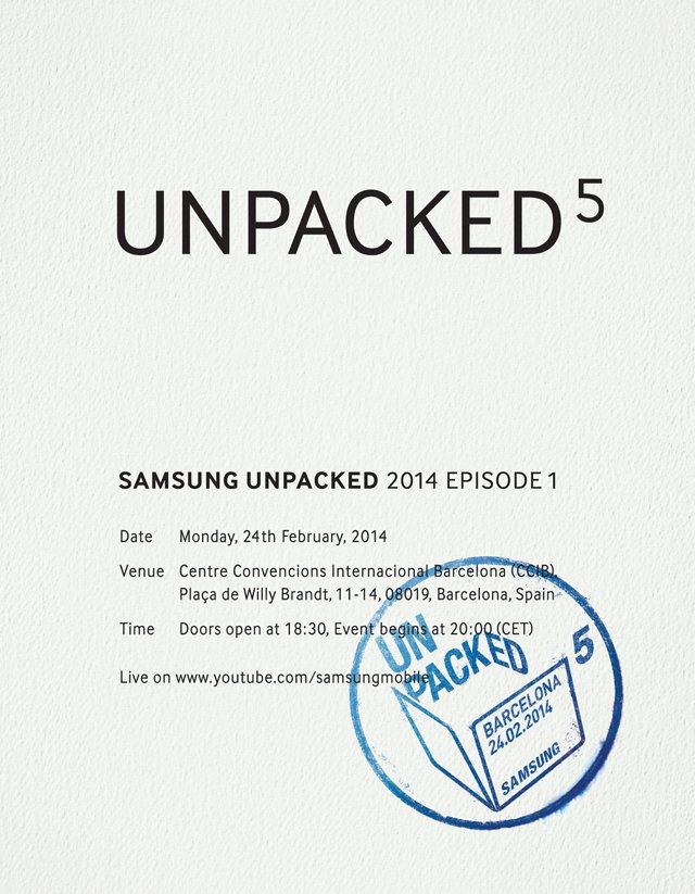 Unpacked 5 Samsung Galaxy S5