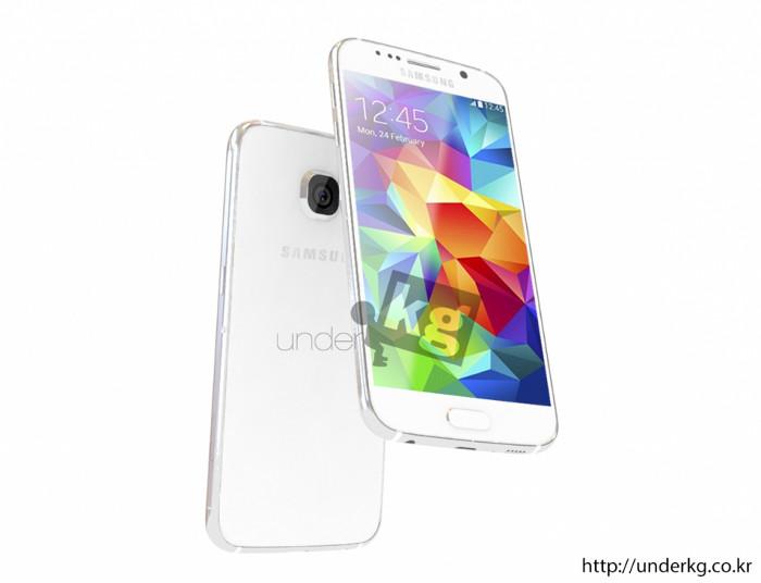 Galaxy S6 : des rendus 3D du futur smartphone de Samsung