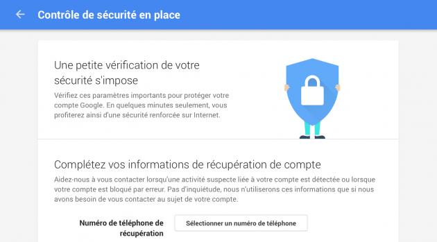 Google Drive : 2 Go offerts contre un contrôle de sécurité