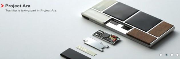 Projet Ara : Toshiba présente ses modules d'appareil photo