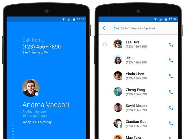 Facebook lance «Hello» pour remplacer l'app Téléphone sur Android