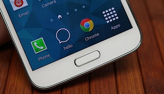 Galaxy S5 : une faille de sécurité dans le capteur d'empreintes digitales