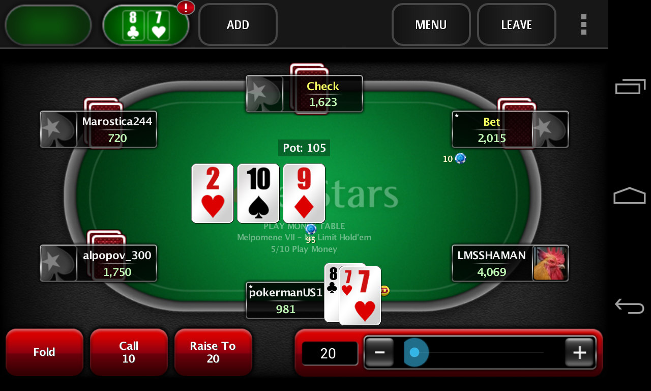 download poker stars