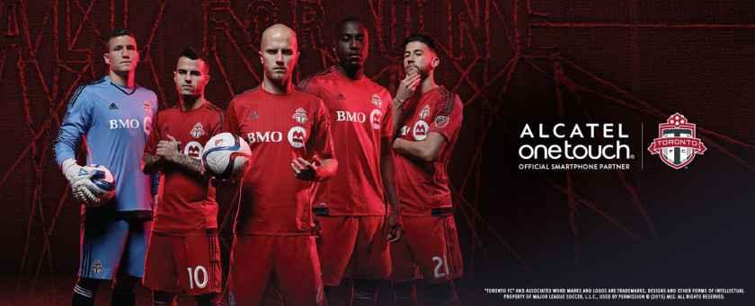 Alcatel OneTouch devient le partenaire smartphone du Toronto FC