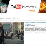 YouTube lance Newswire, une chaîne de vidéos vérifiées liées à l'actualité