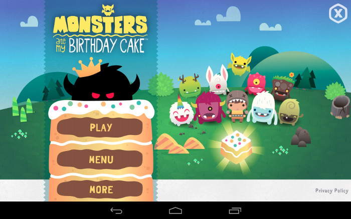 Google Play : l'appli gratuite de la semaine est Monsters Ate My Birthday Cake