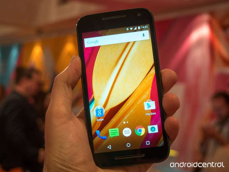 Motorola : le Moto G 2015 officiellement disponible, dès 179 dollars