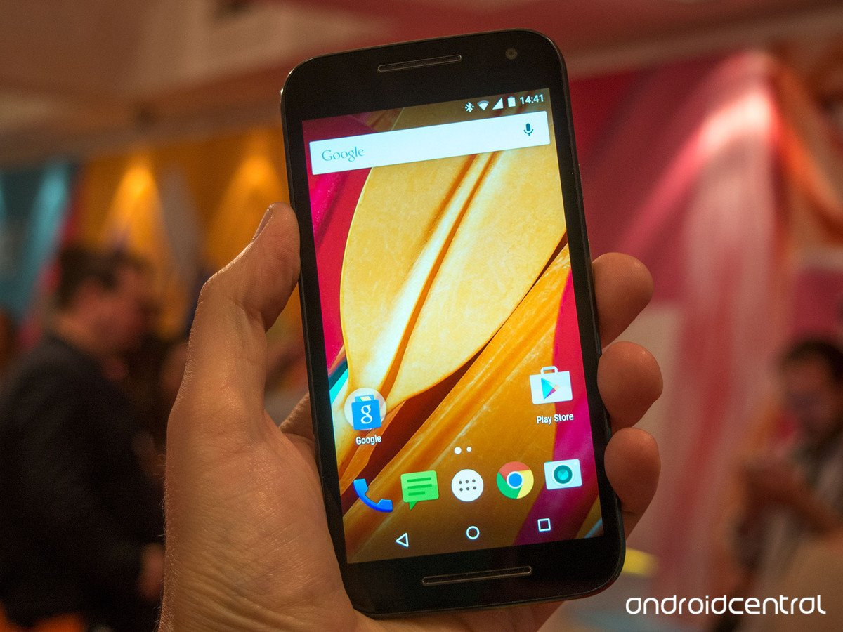 Motorola le moto g 2015 officiellement disponible d s for Photo ecran moto g