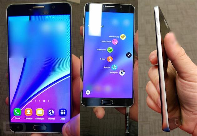 Galaxy Note 5 : prise en main en images avant la sortie officielle