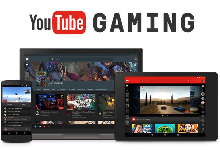 YouTube Gaming disponible sur Android et sur le web