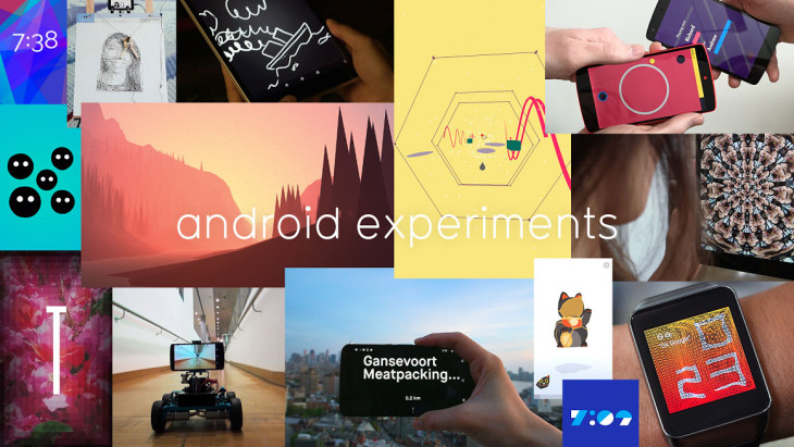 Google : « Android Experiments » met en valeur les applications Android