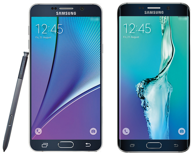 Samsung : la photo de presse officielle Galaxy Note 5 & S6 Edge+ dévoilée ?