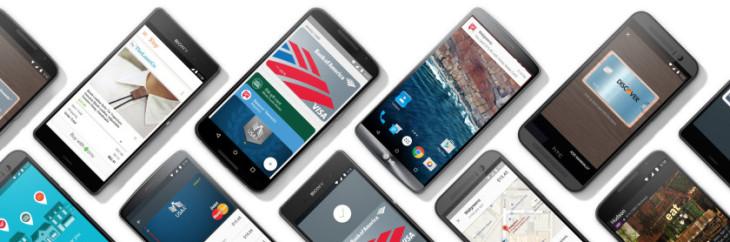 Google lance enfin Android Pay sur le marché du paiement sans contact