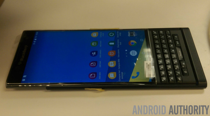 BlackBerry Venise : nouvelles images exclusives sous Android