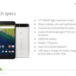 Huawei : les caractéristiques du Nexus 6P dévoilées ?