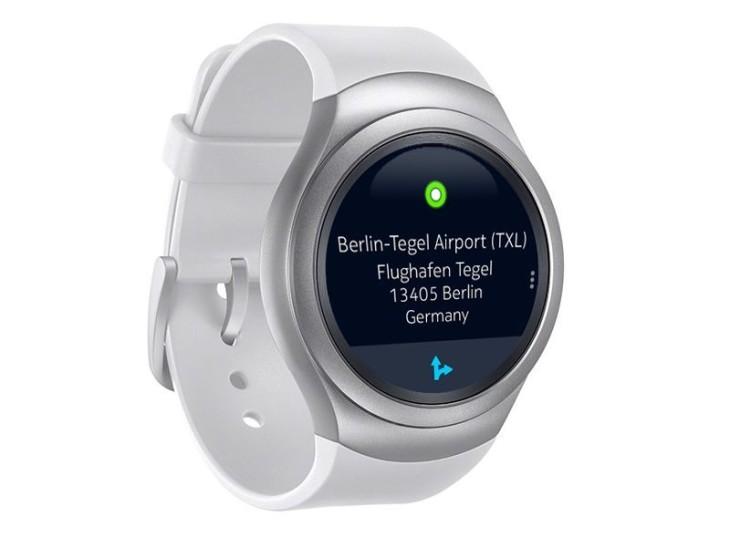 HERE Maps pour Android compatible avec la Samsung Gear S2