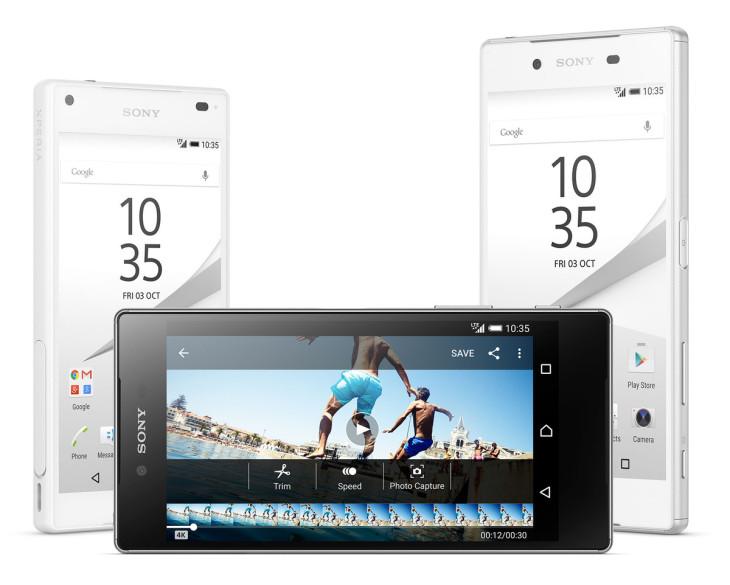 Un écran 4K pour le nouveau Sony Xperia Z5 Premium