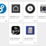 BlackBerry Priv : les applications disponibles sur le Google Play