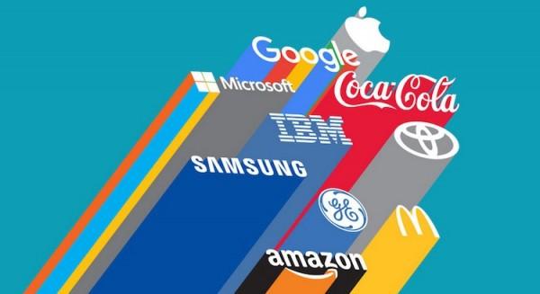 Apple & Google sont les 2 meilleures marques du monde en 2015