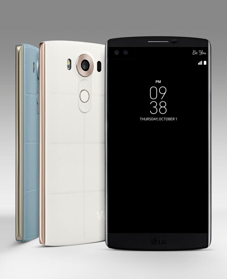LG V10 : le smartphone avec deux écrans et trois caméras