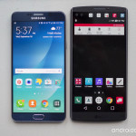 LG V10 vs Samsung Galaxy Note 5 : comparatif en images