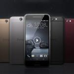 HTC présente le One A9, son smartphone sous Android Marshmallow