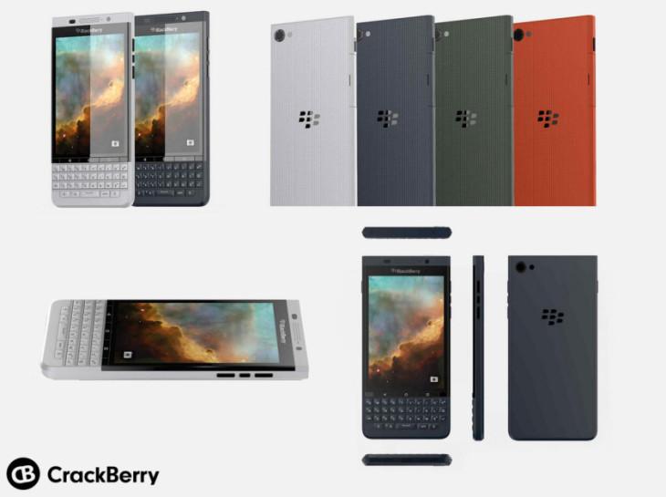 BlackBerry Vienna : des images du second smartphone sous Android  ?