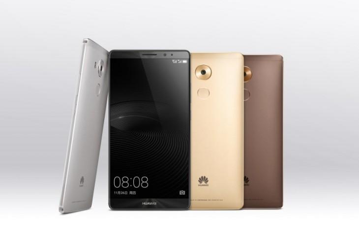 Huawei Mate 8 : écran 6″ Full HD, processeur Kirin 950 & Android Marshmallow