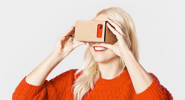Google : 5 millions de Cardboard expédiées, 25 millions d'apps VR téléchargées
