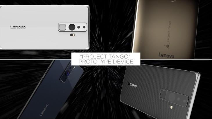 CES 2016 : Lenovo sortira le premier smartphone Project Tango (Google)
