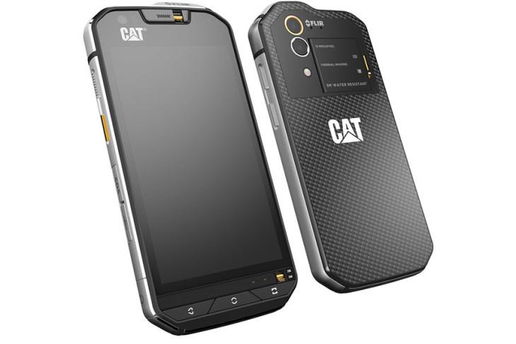 MWC 2016 : Cat S60, premier smartphone équipé d'une caméra thermique