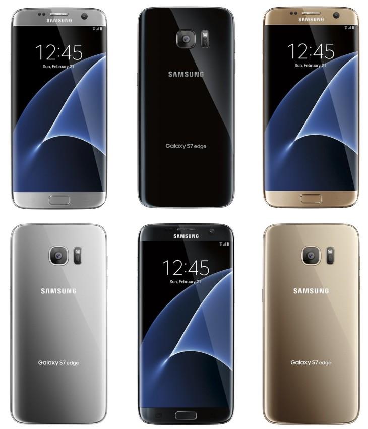 Galaxy S7 & S7 Edge : les coloris dévoilés