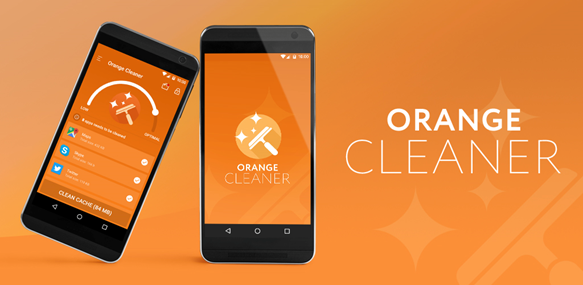 Orange-Cache-Cleaner-Android